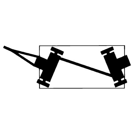 Industrie-Anhänger fetra®, Doppelachslenkung