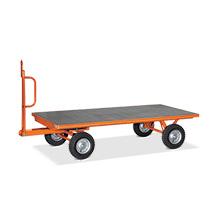 Industrie-Anhänger fetra® mit 1-Achs-Lenkung. Tragkraft bis 3000 Kg