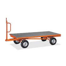 Industrie-Anhänger fetra® mit 2-Achs-Lenkung. Tragkraft bis 3000 Kg