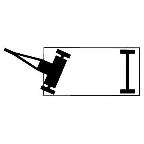 Industrie-Anhänger fetra®, Vorderachslenkung