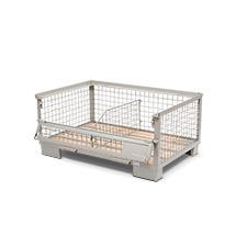 Industrie-Gitterbox. Mit EPAL-Prüfplakette. Höhe bis 570 mm