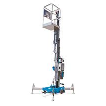Industrie-Hubarbeitsbühne. Tragkraft bis 159 kg