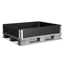 Industrie-Paletten-Aufsatzrahmen, L x B 1000 x 1200mm