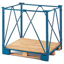 Industrie-Palettenaufsatz, Nutzhöhe bis 1600mm, Auflast 2000kg