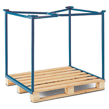 Industrie-Palettenaufsatz, Nutzhöhe bis 1600mm, Auflast bis 1500kg