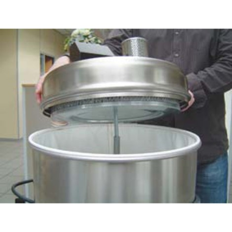 Industriële stofzuiger 24 h. droog, verschillende stofklassen
