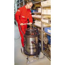 Industriële stofzuiger CARRERA® met voorzetmondstuk. Nat + droog, 2160 watt