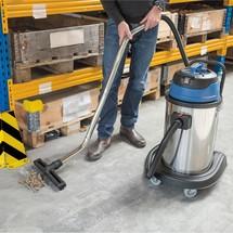 Industriesauger BASIC,  Kippfahrgestell, nass + trocken, 2.000 W