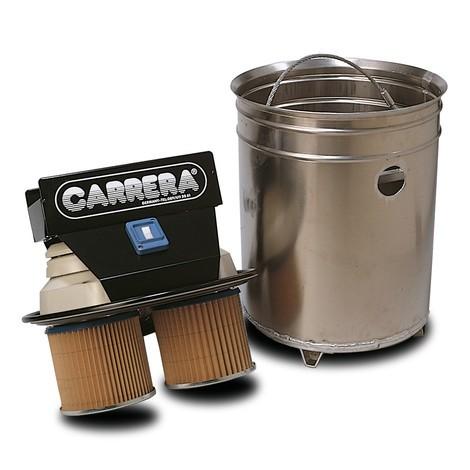 Industriesauger CARRERA® 800 SPS, Kippfahrgestell, Späne-Separierer, nass + trocken, 2.000 W