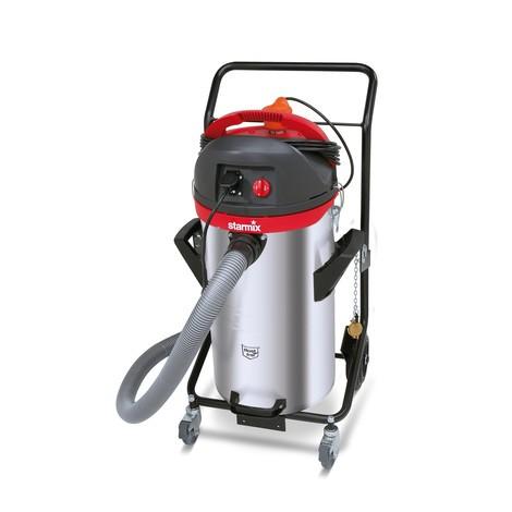 Industriesauger starmix®, Kippfahrgestell, Pumpfunktion, nass + trocken, 2.200 W