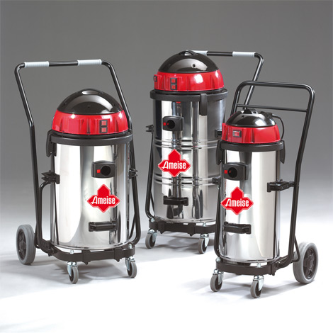 Industriestaubsauger Ameise ®, Kippfahr-Modell. Nass + trocken, bis 3600 Watt