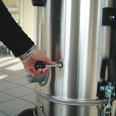 Industriestaubsauger Ameise ®. Trocken, 2400 Watt, Staubklasse M oder H