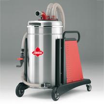 Industriestaubsauger für Späne + Emulsionen. 3600 Watt