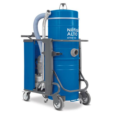 Industriestaubsauger Nilfisk ATTIX 145/155-01. Nass + trocken, bis 4000 Watt