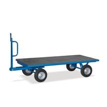 Industriële aanhangwagen fetra® met enkele asbesturing. Capaciteit tot 3000 kg