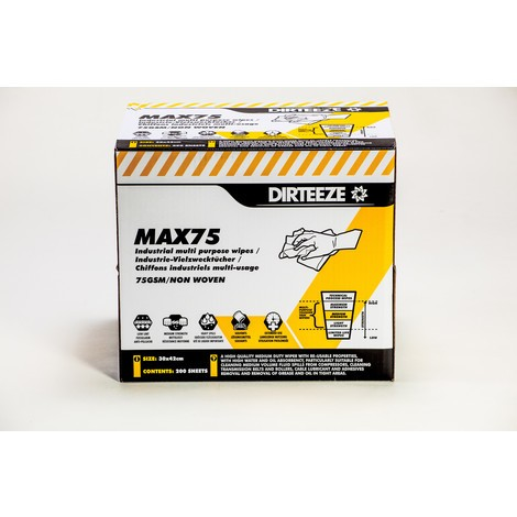 Industrivåtservetter MAX75