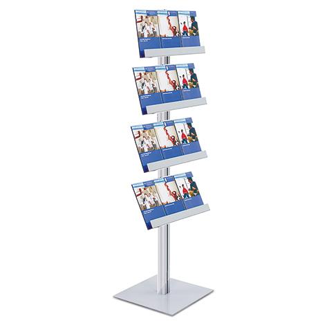 Informationscenter, ohne Posterformat, 4 Prospektablagen