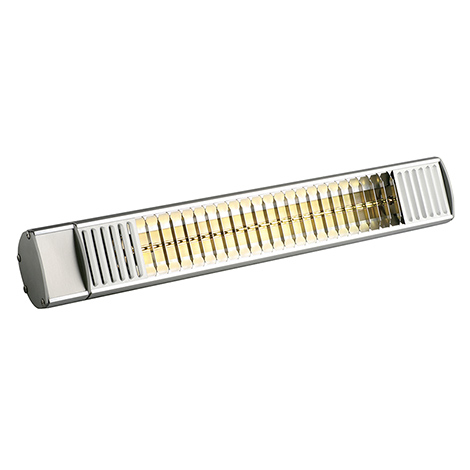 Infrarot-Heizstrahler mit Kurzwellenlampe. Heizleistung bis 2kw