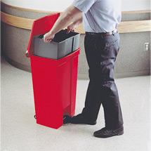 Innenbehälter für Tretabfalleimer PROFI, 30  - 87 Liter