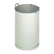 Inneneinsatz für Abfallsammler EDELSTAHL, 700xØ320mm