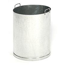 Inneneinsatz für Abfallsammler EDELSTAHL, 750xØ420mm