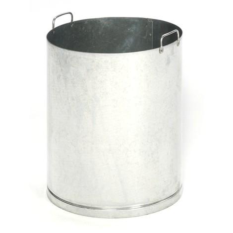 Inner liner for VAR® ashtray/waste bin combination, stainless steel