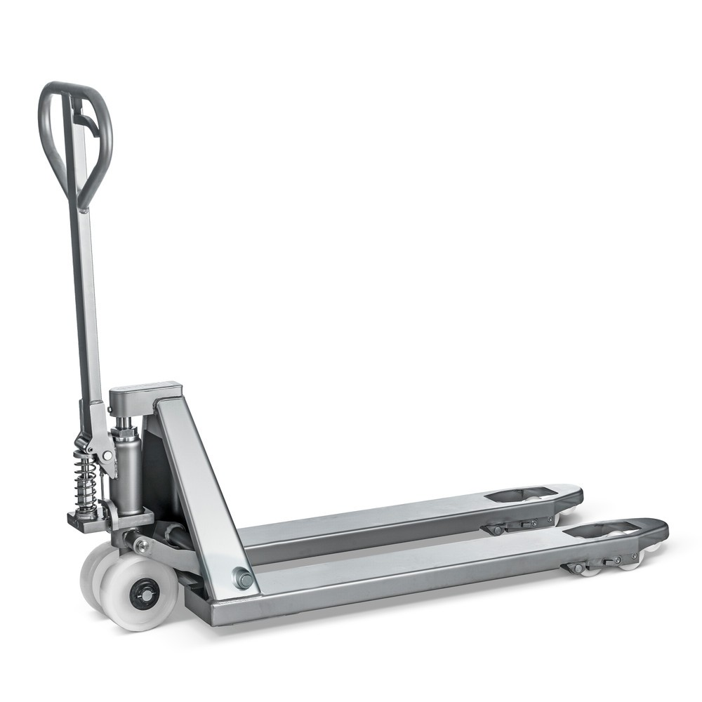 INOX paletový vozík z nerezové oceli