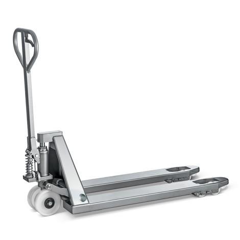 INOX PRO paletový vozík z nerezovej ocele