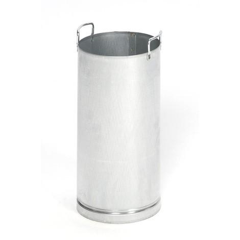Inserto interno per combinazione posacenere-portarifiuti VAR®, acciaio inox