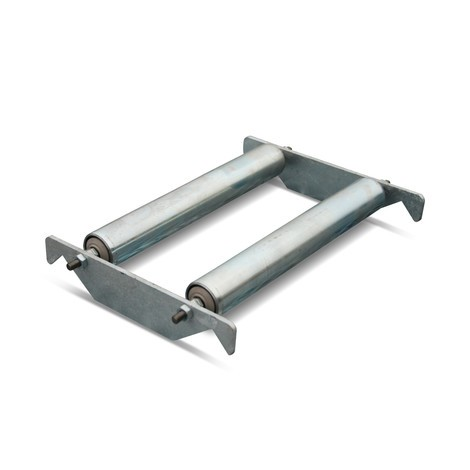 Insteekbare draagrollen voor vatenrekken incl. lekbak