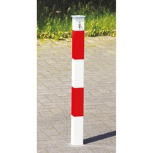 Intrekbare barrièrepaal