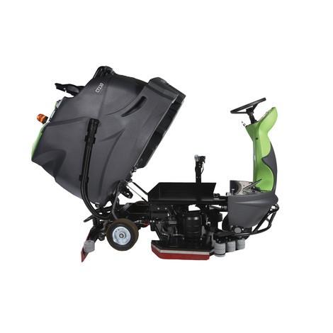 IPC Gansow ride-on schrobmachine CT 230 BF 100 RS CD