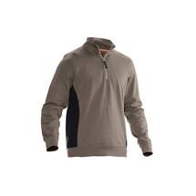 Jobman Sweatshirt mit Kragen 1/2 zip