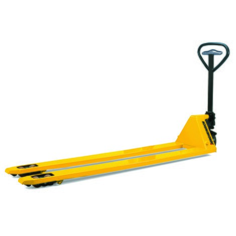 Jungheinrich AM 22 hand pallet truck with quick lift, long forks