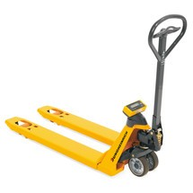 Jungheinrich AMW 22 hand pallet truck with weighing scale