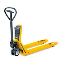 Jungheinrich AMW 22p hand pallet truck with weighing scale, premium display