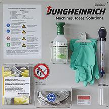 Jungheinrich® Batteriepflegewand