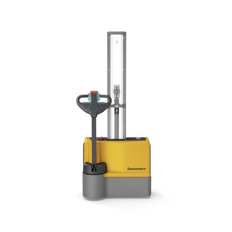 Jungheinrich EJC M10 E electric stacker truck – single-stage mast, lithium-ion