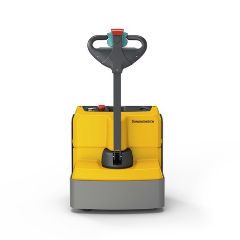 Jungheinrich EJE M15 electric pallet truck, width across forks 670 mm, lithium-ion