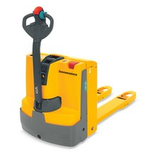 Jungheinrich powered pallet truck EJE 116, 1.000 mm x wof 670 mm forks, pallet entry forks