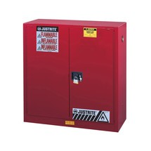 Justrite® Classic Sure-Grip® FM veiligheidskast voor ontvlambare materialen
