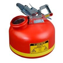 Justrite HDPE veiligheidscontainer voor verwijdering