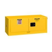 Justrite® Piggyback Sure-Grip® FM veiligheidskast