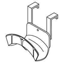 Kabel- en slanghaspel voor materialencontainer