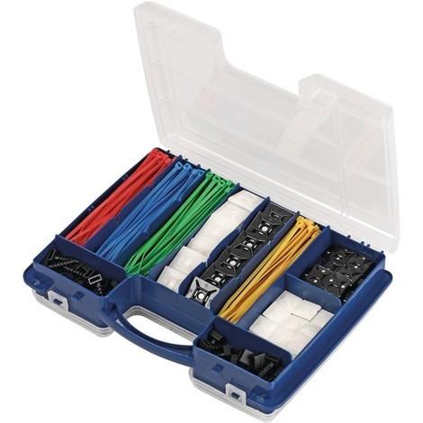 Kabelbinderset, 304-teilig Polyamid
