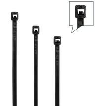 Kabelbinderset, 350-teilig Polyamid schwarz