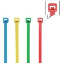 Kabelbinderset, 400-teilig Polyamid mehrfarbig