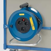 Kabeltrommel voor kastwagen fetra® capaciteit 400kg