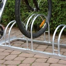Kabłąkowy stojak rowerowy, 2-stronny
