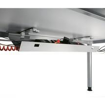 Kanał kablowy do biurka